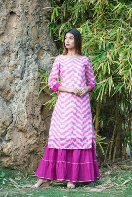 Kurta With Sharara