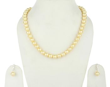 Sea Shell Imitation  Pearl Necklace Sets