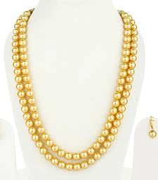 Sea Shell 2 Layered Imitation Pearl Necklace Sets