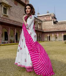 Gul Hanblock Lehriya Suit Set