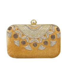 2b3515715a MaFs Women's Sequence Box Clutch for Wedding and Parties, Gold. Shop Now