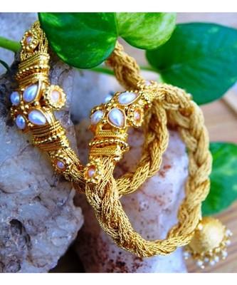 Jhanjarya Rope Bangles with Pearls