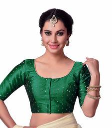 Green Designer  Readymade Blouse