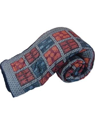 Jaipur Handblock Coton Double Bed Rajai Quilt