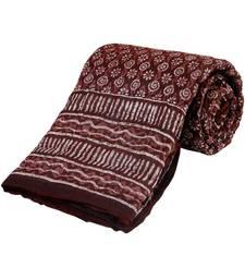Jaipuri Print Cotton Single Bed Razai Quilt