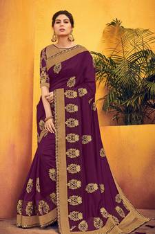 c639c80367 Buy Heavy Work Sarees Designs, Indian Heavy Work Wedding Sarees