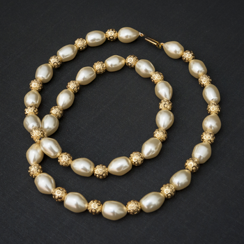 pearl necklace for office