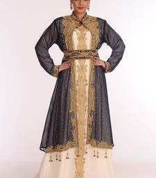jacquard multicolor embroidered islamic kaftans