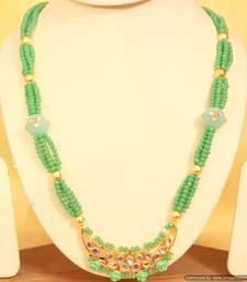 Kundan Meenakari Paisley Sea Green Turquoise Necklace