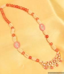 Paisley Kundan & Meenakari Coral Necklace