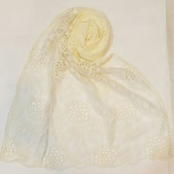 Now Or Never - Premium Cotton Half Net Hijab