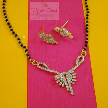 Ethnic Indian Bridal CZ Mangalsutra