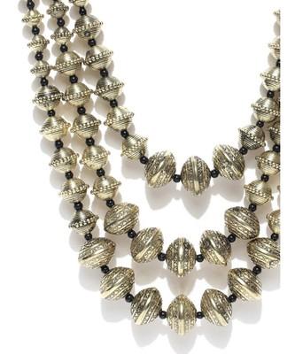 Infuzze Gold-Toned Layered Necklace