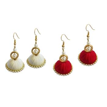 Multicolor combo earrings