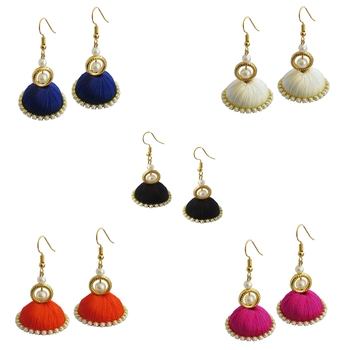 Multicolor combo earrings