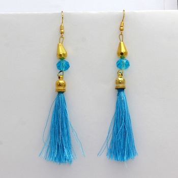 Blue Danglers Drops