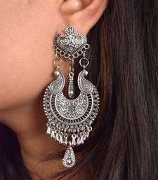 Latest Design Fashion Silver Oxidized Earrings