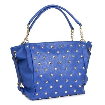 Lychee Bags Women's Blue PU Satchel Bag
