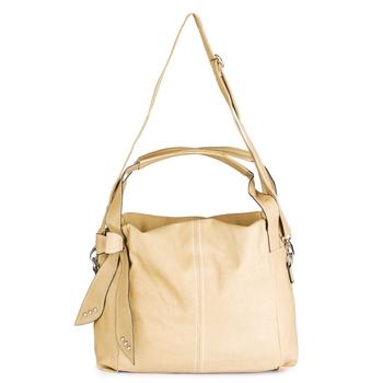 Lychee Bags Women's sophie Copper CreamPU Handbags