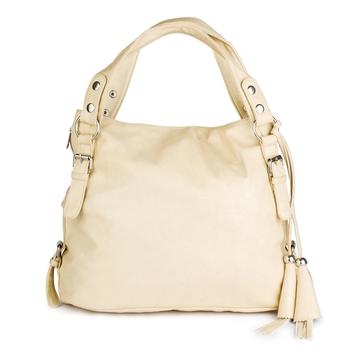 Lychee Bags Women's Cream  PU Handbags
