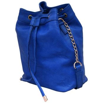 Lychee Bags Women's Blue PU Sling Bag