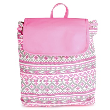 Lychee Bags Women's Canvas Backpack