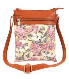 Lychee Bags Women's PU Cady Sling Bag (Multicolour)