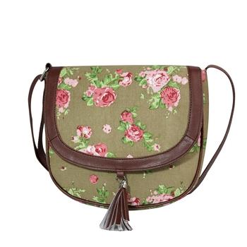 Lychee Bags Women's Canvas Kay Sling Bag