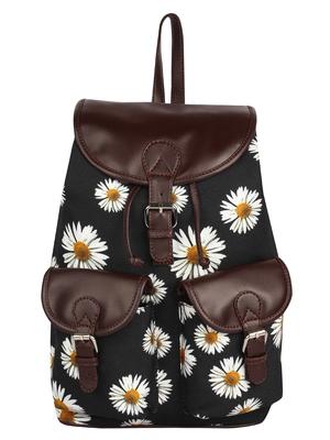 Lychee Bags Girl's Black Debbie Backpack