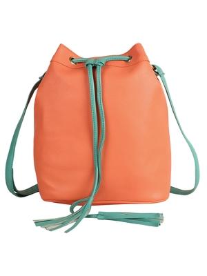 Lychee Bags Girls Peach PU Callie Sling