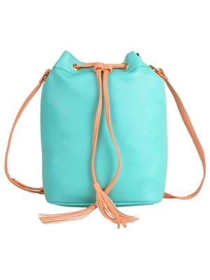 Lychee Bags Girls Green PU Callie Sling