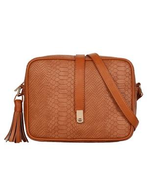 Lychee Bags Girls Tan PU Anne Sling
