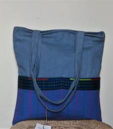 Grey canvas tote bag