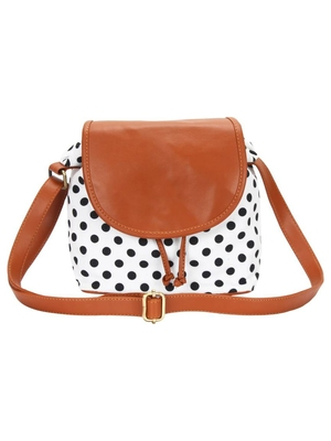 Lychee Bags Girl's Canvas Sling Bag
