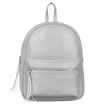 Lychee Bags PU Black Ace Backpack for Girls