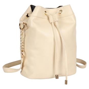 LYCHEE BAGS PU CREAM SLING BAG