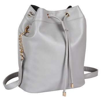 LYCHEE BAGS PU GREY SLING BAG