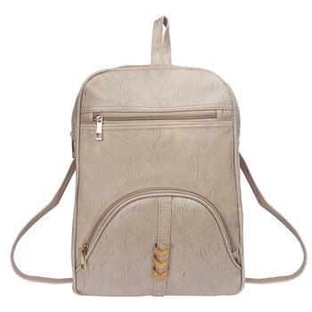 Lychee bags Woman's  macy Grey  pu Backpack