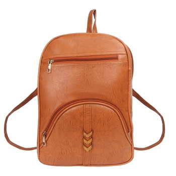 Lychee bags Woman's macy Beige  pu Backpack