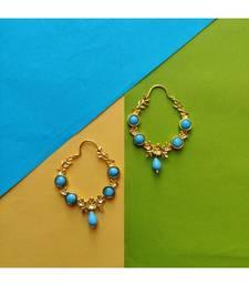 Gold plated Saroja Hoop Earrings