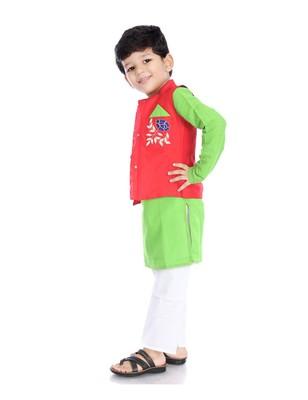 Kurta Pajama With Jacket