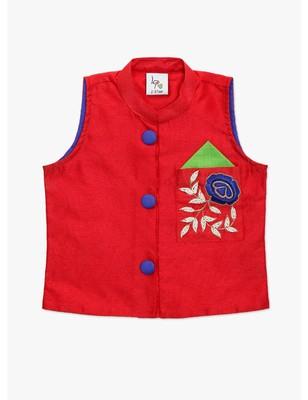 Moti Work Silk Jacket