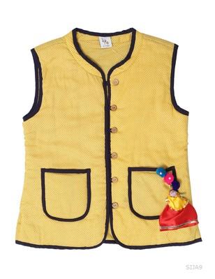 Sanganeri Print Reversible Jacket