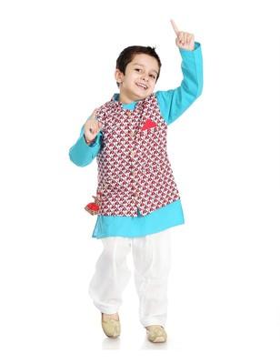 Cotton Jacket With Pocket Stash