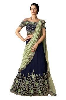 77b6235a84 Lehenga Saree | Designer Lehenga Style Sari Online Shopping