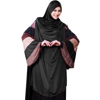 Maroon Plain Poly Cotton Hijab
