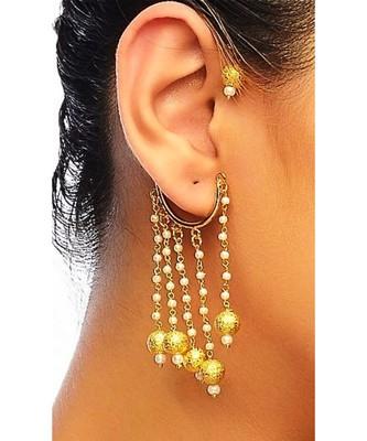 Gold Bali Ear Cuff