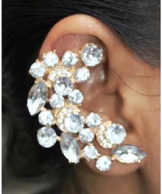 Rhine Stone Right Ear Clip Ear Cuff