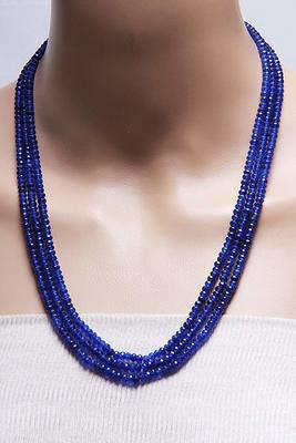 Blue Multilayer Onyx Necklaces