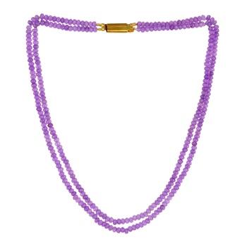 Purple onyx necklaces